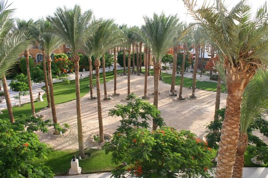 The Makadi Spa Hotel: View from room