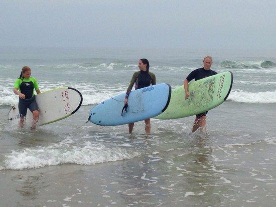 Corolla Surf Shop: Surfer Girls