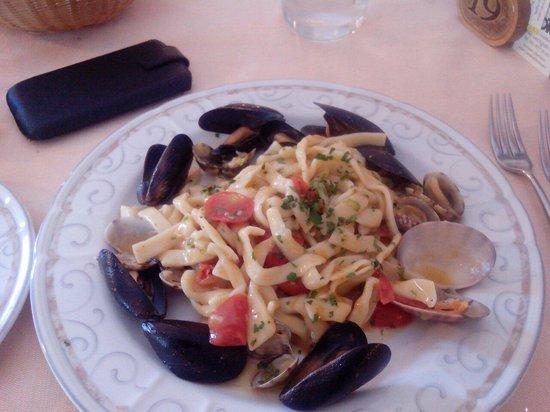 Ciao Toto: Vermicelli del golfo vongole,cozze pomodorini