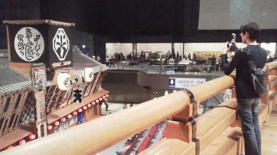 Edo-Tokyo Museum: 博物館内