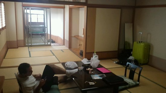 Lake Land Hotel Mizunosato: Very spacious hotel room