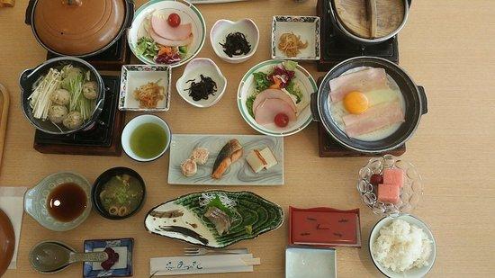 Lake Land Hotel Mizunosato: Breakfast