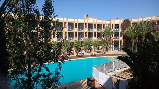 Le Medina Essaouira Hotel Thalassa Sea & Spa - MGallery by Sofitel-: Sicht vom Zimmer 107