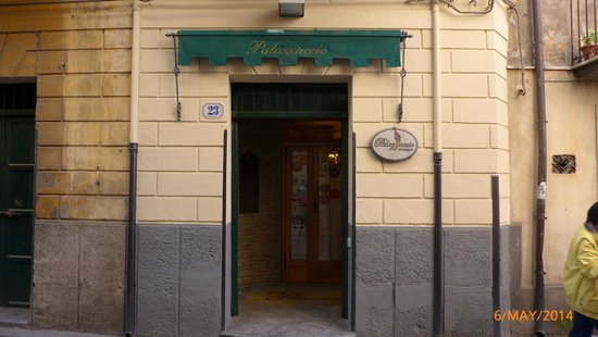 Ristorante Palazzaccio : Entrance to the restaurant