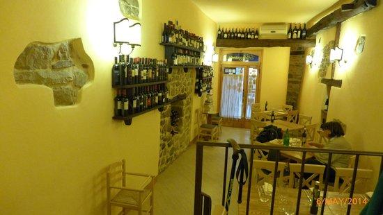 Ristorante Palazzaccio : Interior of the restaurant