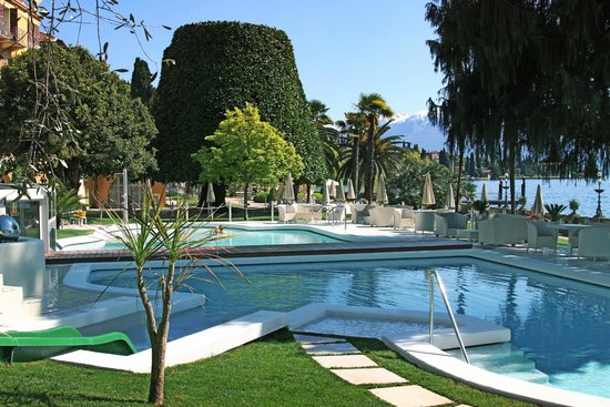 Grand Hotel Fasano : Heated swimming pools