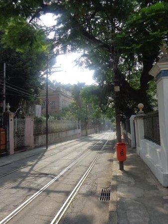 Casalegre Art Vila B&B - Santa Teresa: safe street outside casalegre