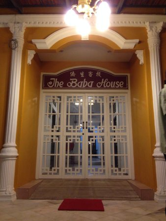 The Baba House: Back entrance of the car park