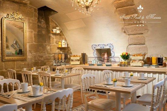Hotel Saint Paul Le Marais: Breakfast