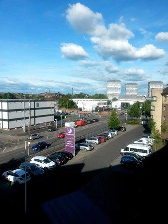 Premier Inn Glasgow City Centre South Hotel: Room View
