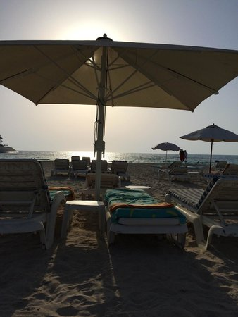 Jumeirah Emirates Towers: Jumeirah private beach