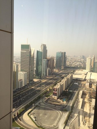Jumeirah Emirates Towers: View from 44th Floor