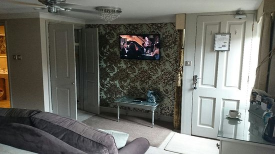 The Hoste: Flat Screen TV With Sky