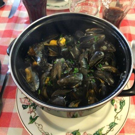 Creperie Snack Sainte Barbe: Moules marinières