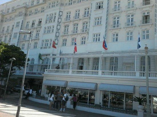 Avenida Atlantica : Copacabana Palace