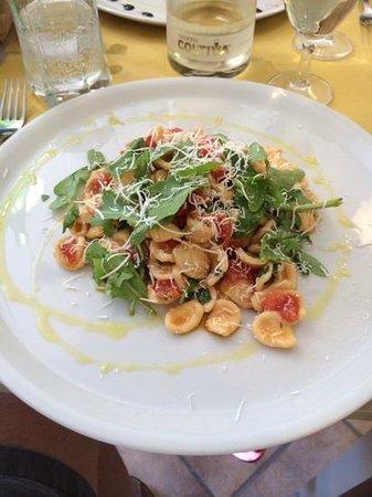 osteria il Mitreo: perfect pasta