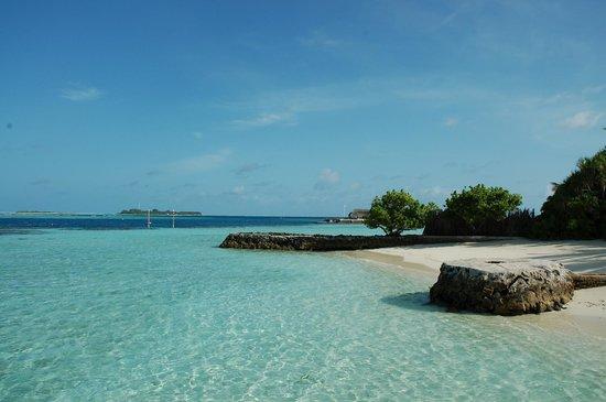 Nika Island Resort: Paesaggio fuori dalla camera