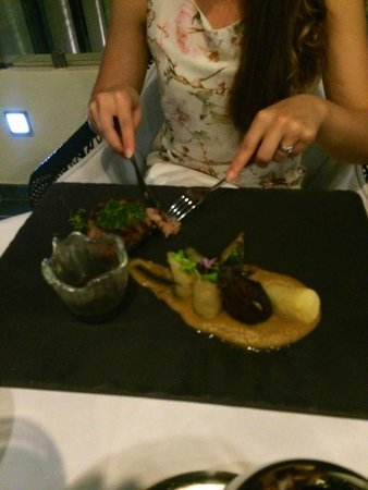 Elysium Resort & Spa: Best veil cooked to perfection