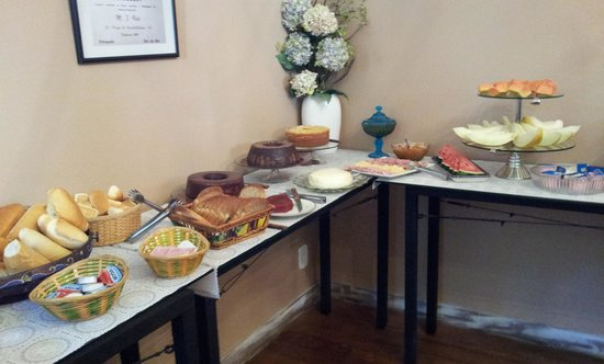 Hotel Grao Para: Breakfast
