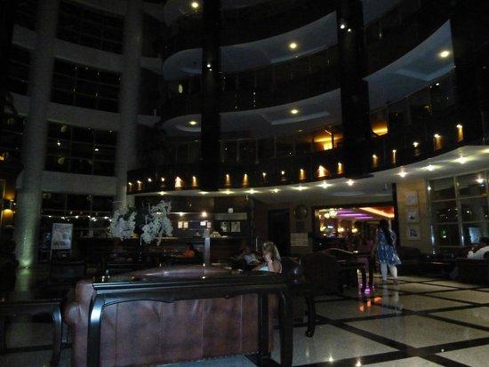 Grand Pasa Hotel: reception