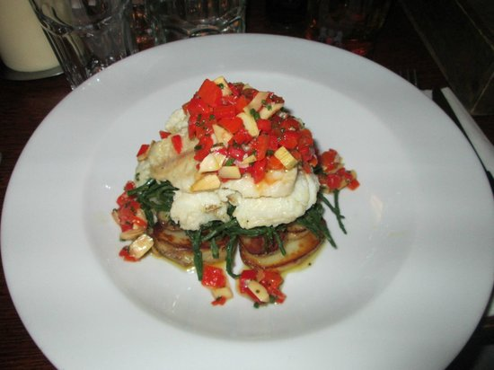 The Andover Arms : Monkfish fillet