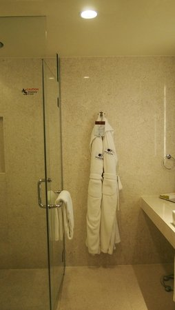 DoubleTree by Hilton Kuala Lumpur: our double room toliet