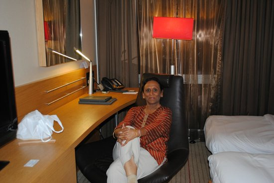 Hilton Zurich Airport : Spacious and oppulent