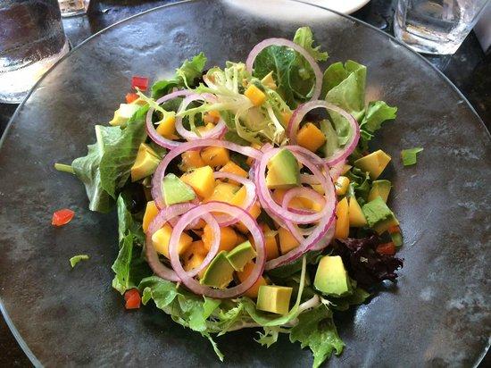 Jaguar Ceviche Spoon Bar and Latin Grill: Mango and Avocado Salad