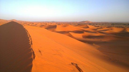 Dar El Janoub : Sonnenuntergang Erg Cheppi