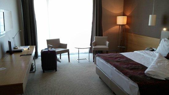 Ramada Podgorica: Big rooms with big windows
