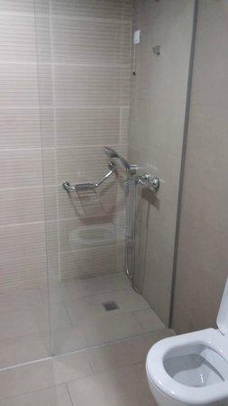 Ramada Podgorica: Shower