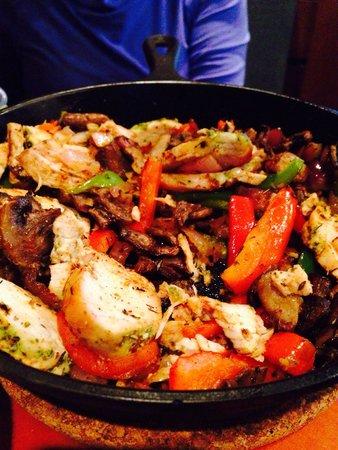 The Bear Street Tavern : Fajita - chicken mix - huge servings! :)