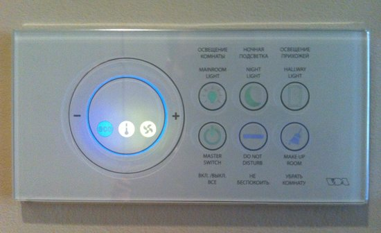 The State Hermitage Museum Official Hotel: State Hermitage Hotel - Touchpad Light Switches
