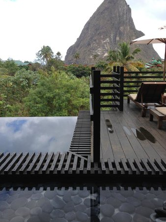 Boucan by Hotel Chocolat: View from the pool area