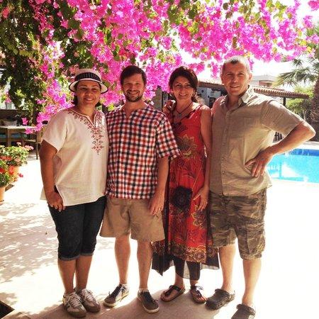 Murat Pasa Konagi: Us with our most gracious hosts