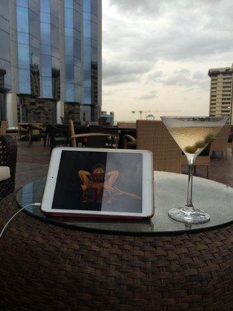 InterContinental Lagos: Roof Terrace