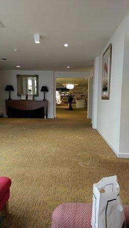 Champneys Springs Health Resort: Reception area