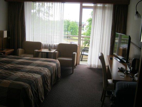 Van der Valk Hotel Stein-Urmond: Kamer met balkon