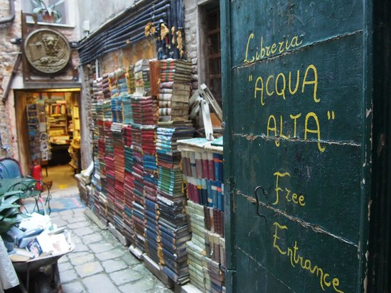 Libreria Acqua Alta : Picture time