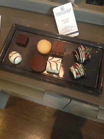 Avantgarde Hotel Taksim Square : welcome cookie