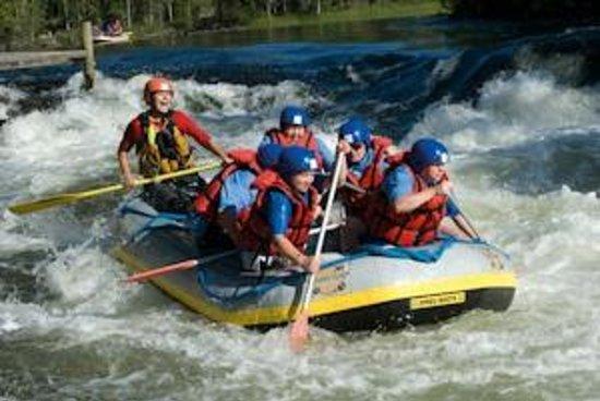 Basecamp Oulanka: Whitewater rafting at Myllykoski