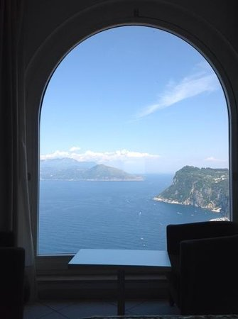 Hotel San Michele : room with a view!