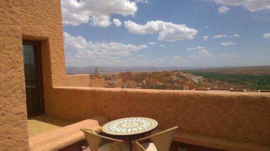 Hotel Xaluca Dades : Blick von der Terrasse unseres Zimmers