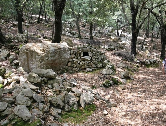 Finca Hotel Son Palou: A good walk; former charcoal burner in the oak woods