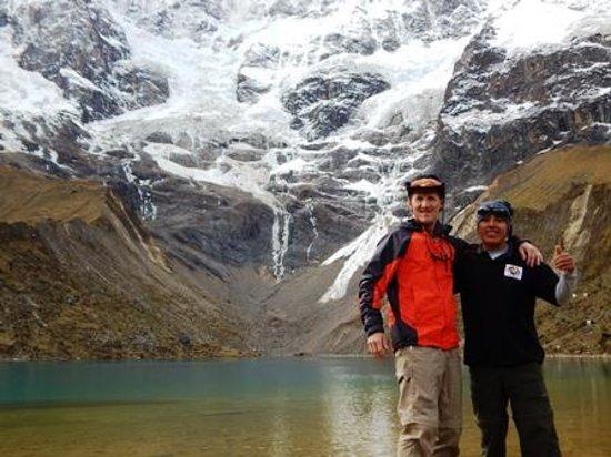 Llama Path: Glacier lake above Soraypampa