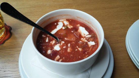 Kolkovna Celnice : Borscht Soup