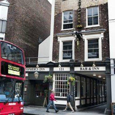 St. Christopher's Inn Hostel - London Bridge: Our Front Door