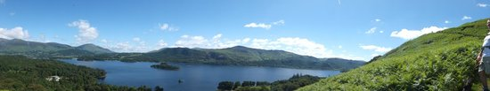 Catbells Lakeland Walk: Panoramic View