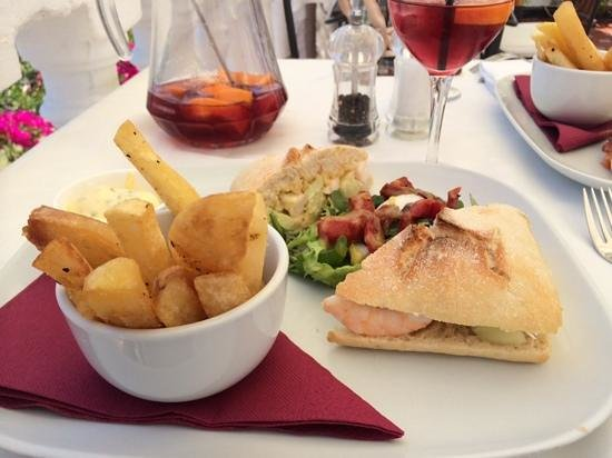 Avalon: lunch - just perfect.