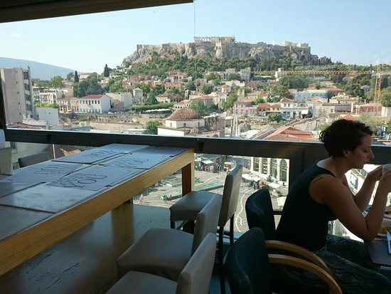 A for Athens: Breakfast view
